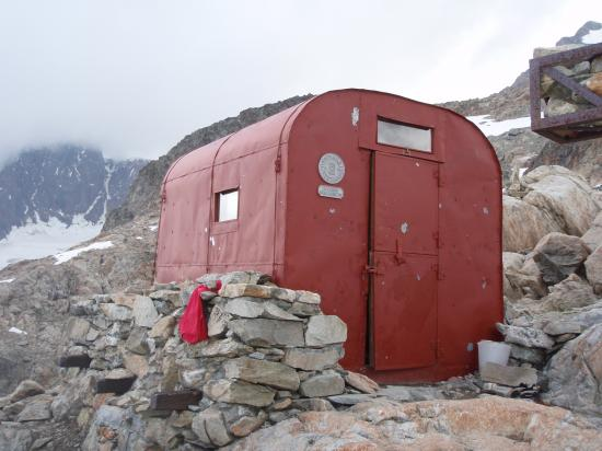 Aiguilles de Trélatête; bivouac du Petit Mont Blanc