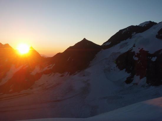 Levé de soleil depuis l'Albaron