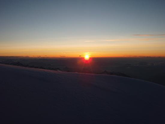 Tot le matin... Massif du Mont Rose