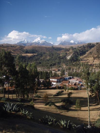 Arrivée à Huaraz