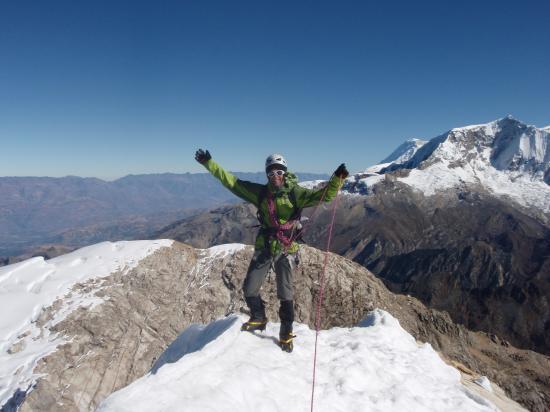 Sommet de l'Urus 5495 m