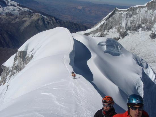 Sommet du Chopicalqui 6354 m