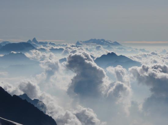 Un matin vers le Dôme de Glaciers
