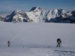 Sur les glaciers suisse
