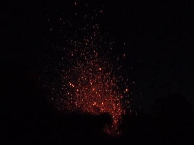 Stromboli by night