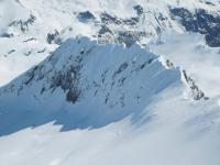 Pointe Marie, avec de la neige comme je ne l'ai jamais vu.